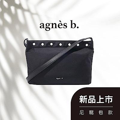 agnes b. Voyage 尼龍斜背包(4款)