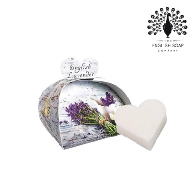 The English Soap Company 乳木果油植萃香氛皂-英國薰衣草 English Lavender 60g