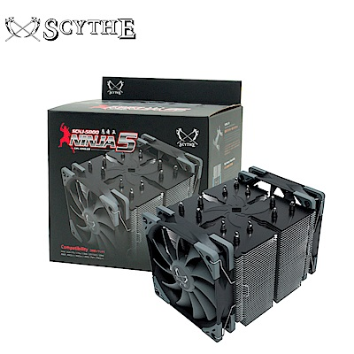Scythe 鎌刀 SCNJ-5000 忍者5 CPU散熱器