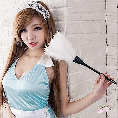 性感女僕裝配件 角色扮演服cosplay服裝加分配件白色羽毛撢子 流行E線