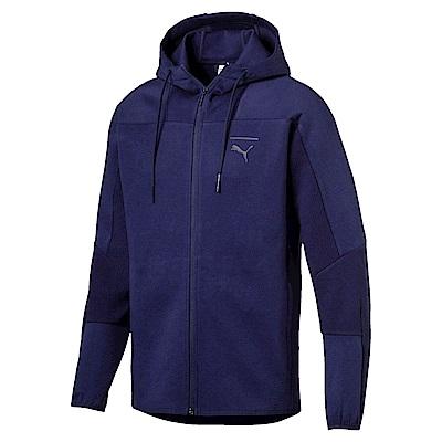 PUMA-男性流行系列Pace連帽外套-重深藍-亞規