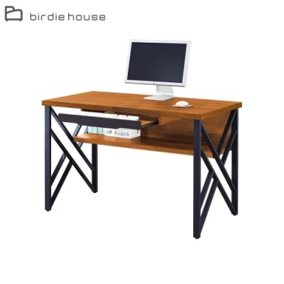柏蒂家居-塔克4.2尺書桌/工作桌/電腦桌-127x60x78cm