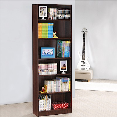 《HOPMA》DIY巧收高六格書櫃-寬57.5 x深23.8 x高175.4cm