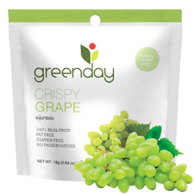 Greenday 葡萄凍乾(18g)