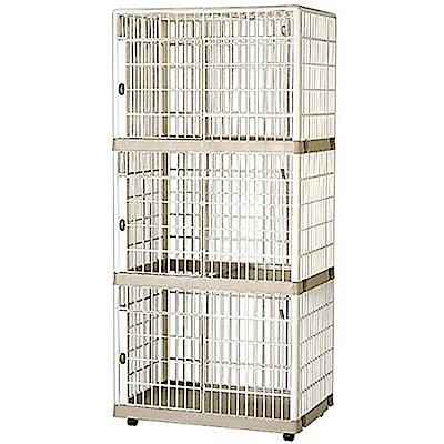 精緻日系室內三層貓籠( IR-813)X單入