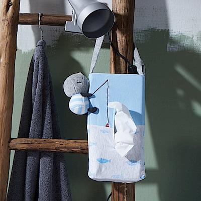 Yvonne Collection 以旺娃娃車用面紙套-藍