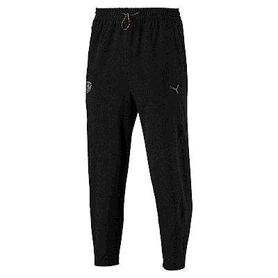 PUMA-男性法拉利經典系列Life長褲-黑色-歐規