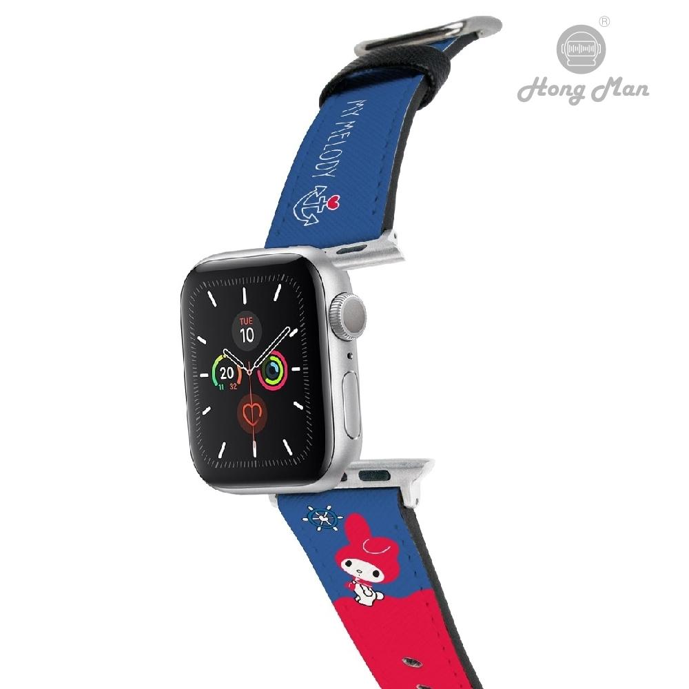 三麗鷗系列 Apple Watch 皮革錶帶 美樂蒂 42/44mm @ Y!購物