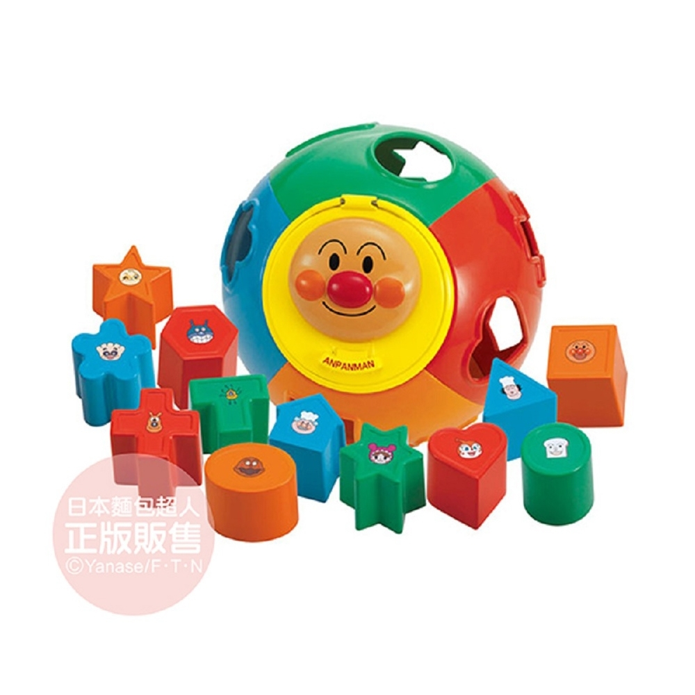 ANPANMAN 麵包超人-NEW幼兒拼圖球(1.5Y+)