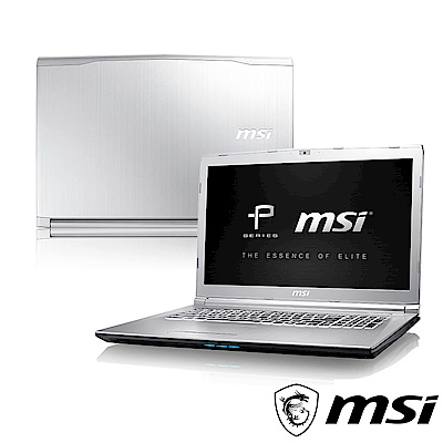 MSI微星 PE72-038 17吋筆電(i5-8300H/GTX1050 Ti/128G
