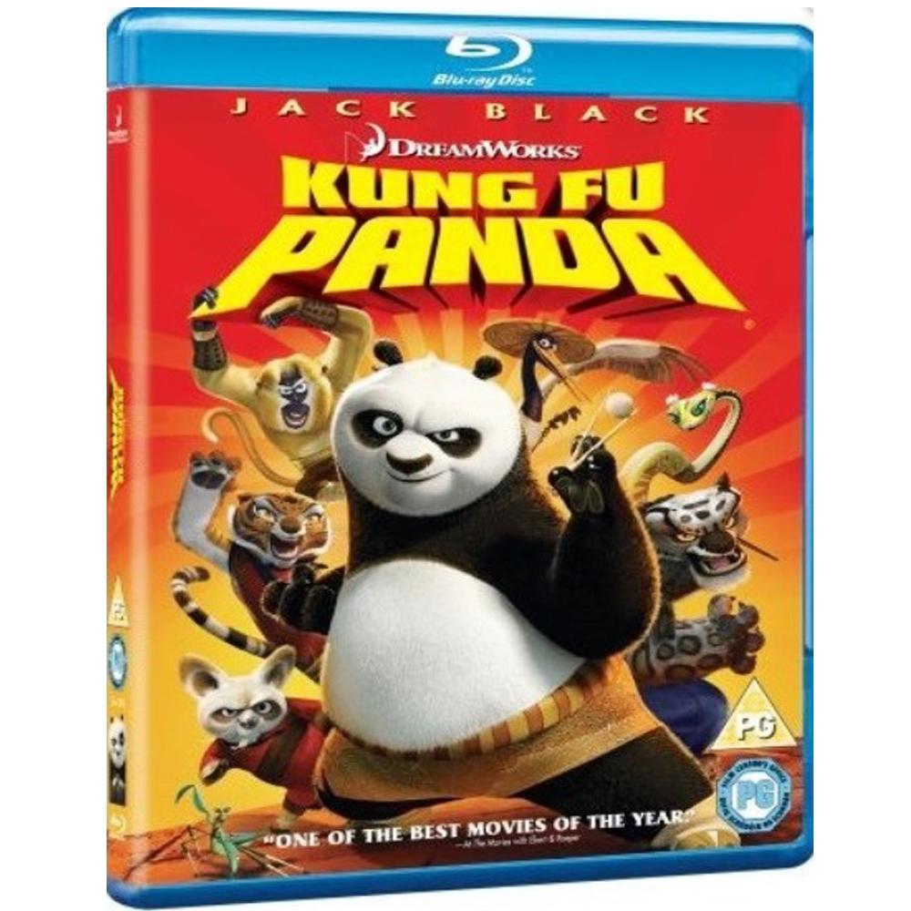 功夫熊貓 Kung Fu Panda 藍光 BD