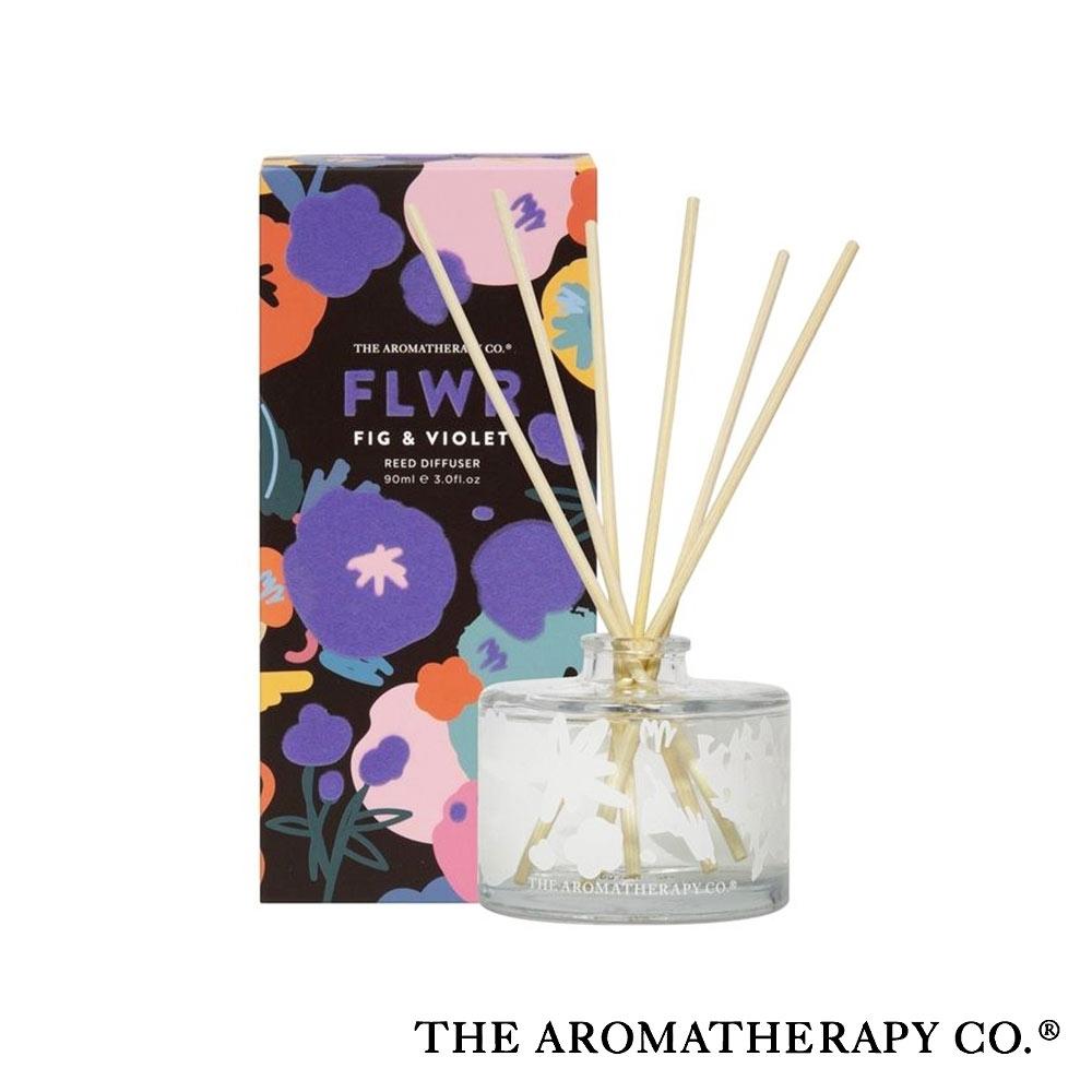 The Aromatherapy Co. 紐西蘭天然香氛 FLWR花卉系列 紫羅蘭 Fig and Violet 90ml 居家擴香