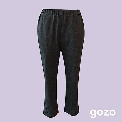 gozo 都會質感挺版棉質長褲(二色)