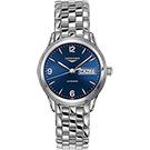LONGINES Flagship 旗艦系列日曆機械錶錶-藍x銀/36mm