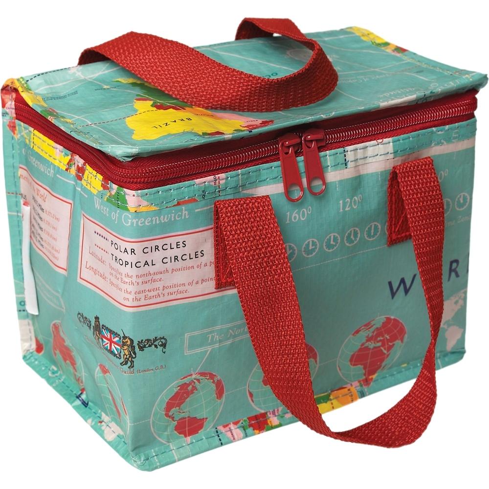 《Rex LONDON》環保保冷袋(地圖)