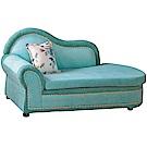 綠活居 杜爾沙亞麻布貴妃椅(二色+二向)-180x76x93cm免組