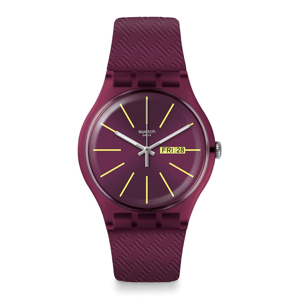 Swatch  I love your folk 系列手錶 WINERY 美好的一杯