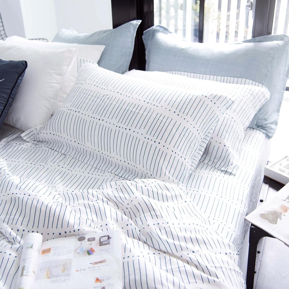 OLIVIA ROY 標準雙人床包歐式枕套三件組 300織天絲TM萊賽爾 台灣製
