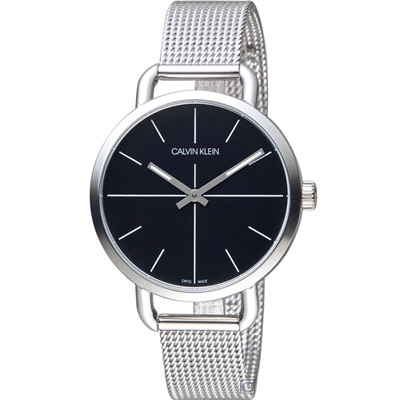 Calvin Klein K7B even 超然時尚腕錶(K7B23121)黑/36mm