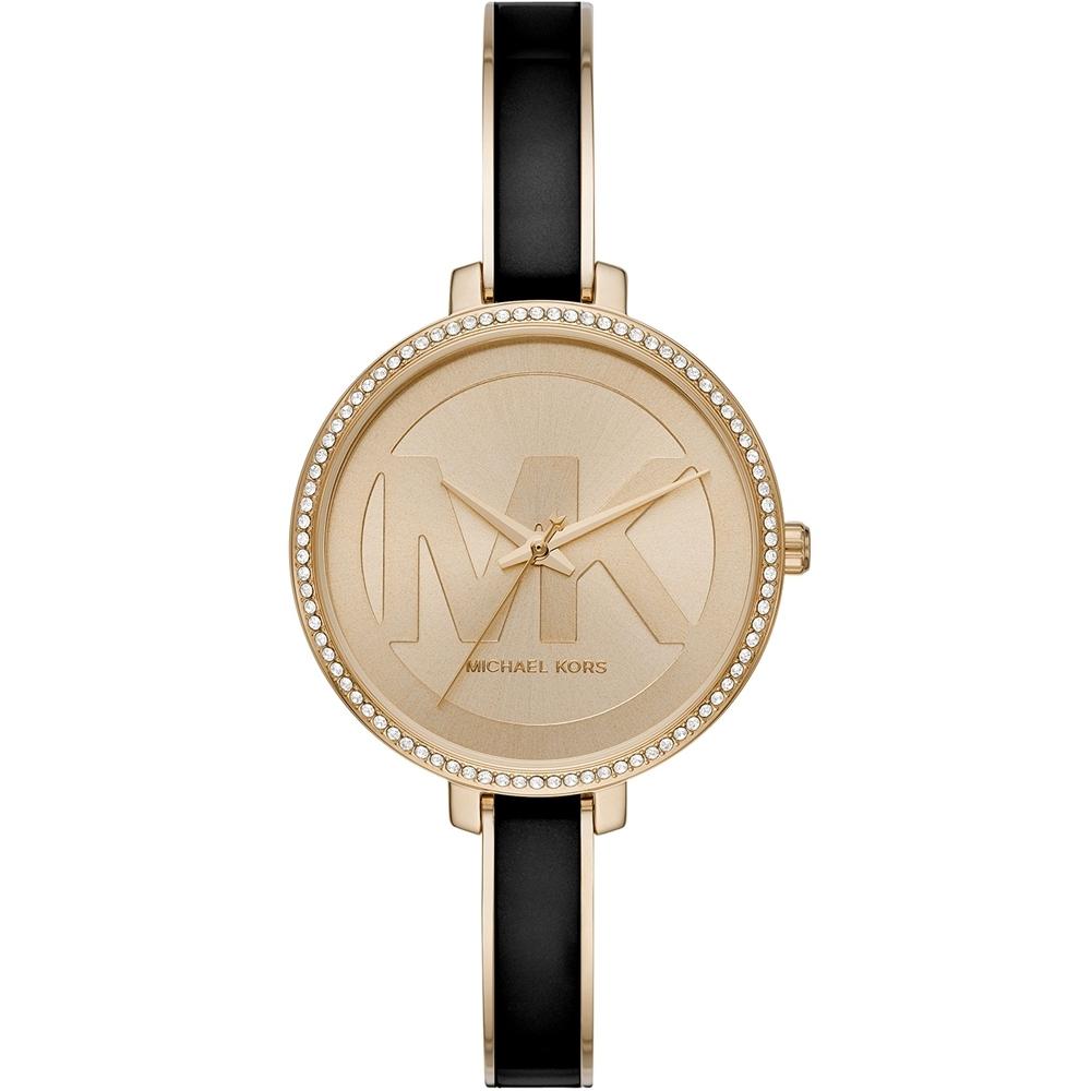 Michael Kors Jaryn 簡約晶鑽手環式腕錶(MK4544)36mm