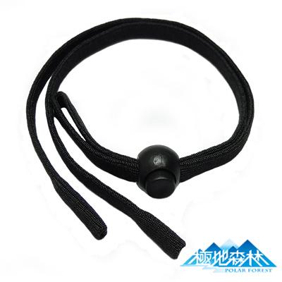 【極地森林】黑色彈性運動安全眼鏡繩(眼鏡帶)4條