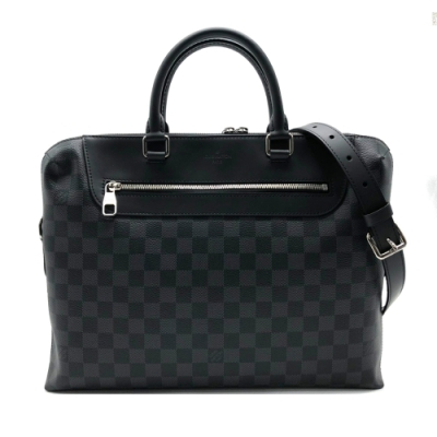 Louis Vuitton PORTE-DOCUMENTS JOUR 公事包/手提包(N48260-黑)