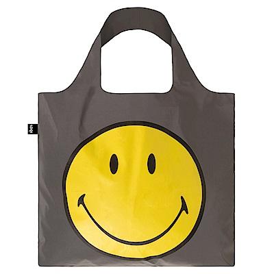 LOQI 購物袋-反光 笑臉 RESMSP