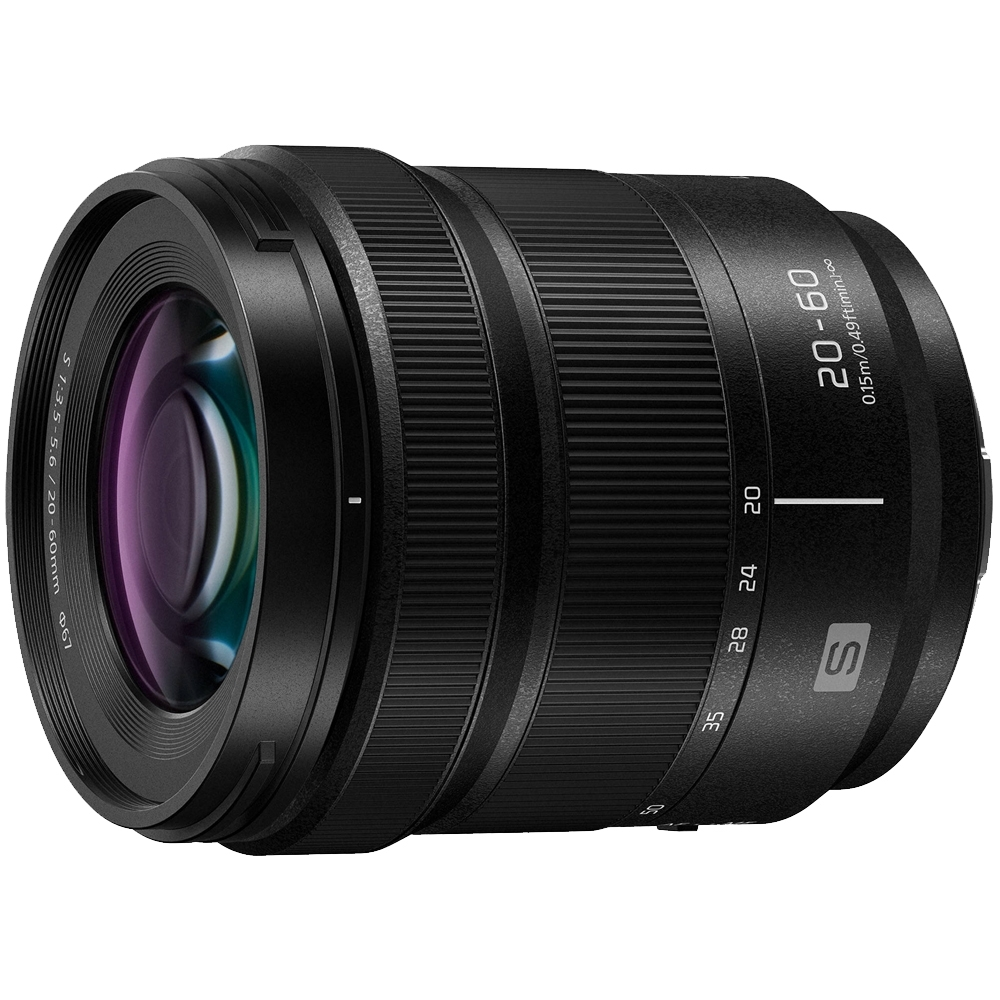 Panasonic LUMIX S 20-60mm F3.5-5.6 變焦鏡頭(公司貨) product image 1