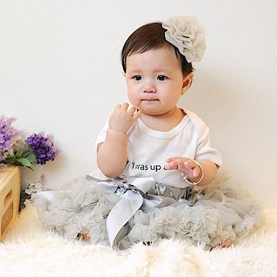 日安朵朵 女嬰童雪紡蓬蓬裙 - 豌豆公主