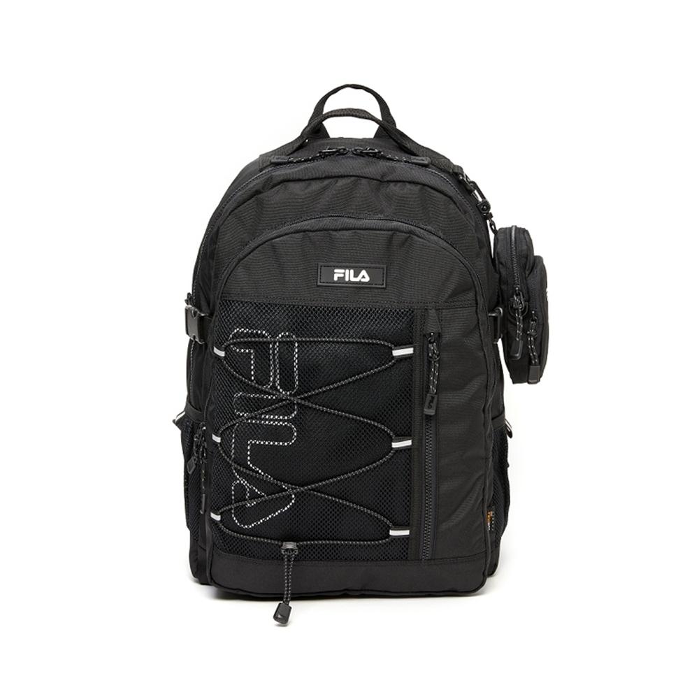 FILA 網繩後背包-黑 BPV-1611-BK