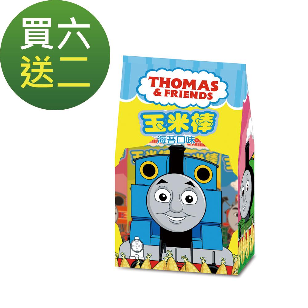 卡通造型玉米棒超值組-湯瑪士小火車海苔(70g) 買6送2 @ Y!購物