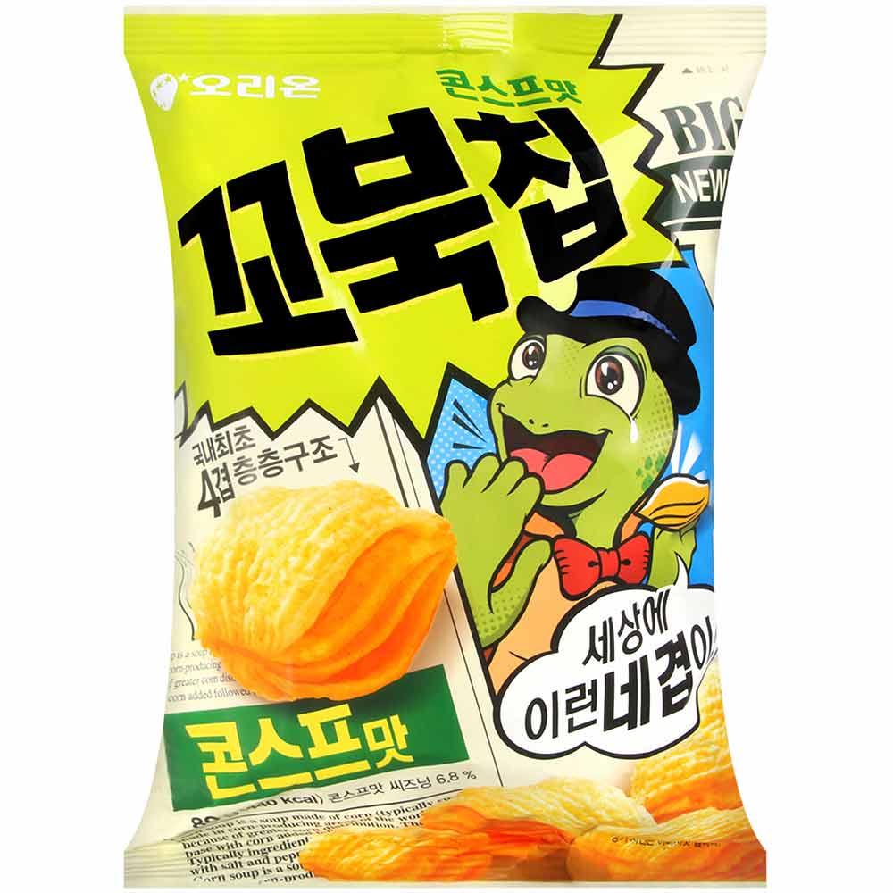ORION 烏龜玉米脆餅-濃湯風味(80g)