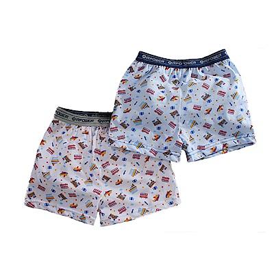 男童精琉純棉平口內褲(四件一組) k50965 魔法Baby