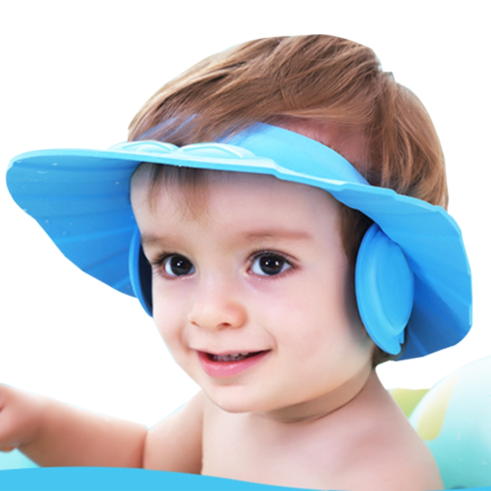colorland【2入】兒童專用洗頭帽童浴帽(隨機顏色兩入)