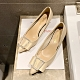 KEITH-WILL時尚鞋館 韓國設計高貴奢華細跟鞋-玫瑰金 product thumbnail 1