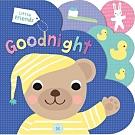 Little Friends:Goodnight 小熊道晚安硬頁書(英國版)