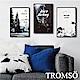 TROMSO 北歐生活版畫有框畫-森林樂活WA62(三幅一組) product thumbnail 1