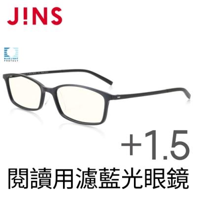 JINS 閱讀用濾藍光老花眼鏡+1.50 (AFRD18A047)