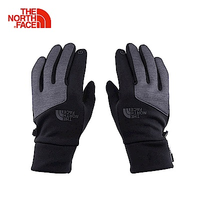 The North Face北面灰色舒適保暖可觸屏手套|3KPNFTH