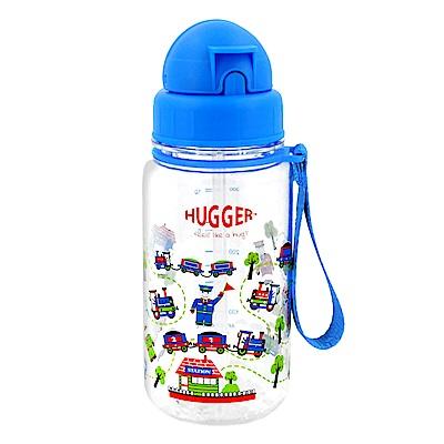 英國Hugger Tritan彈跳吸管水壺 -嘟嘟火車