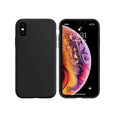My Colors液態膠系列 iPhone XS Max 6.5吋 液態矽膠保護殼