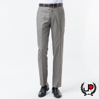 極品名店 經典紳士仿毛平面西裝褲_灰(BW878-1)