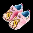 迪士尼童鞋 TsumTsum 塗鴉風寶寶學步鞋-粉