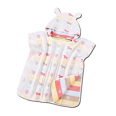 40股純棉嬰兒連帽斗篷(JM-1161)