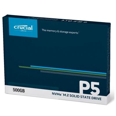 Micron Crucial P5 500GB ( PCIe M.2 )  SSD