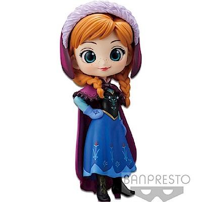 任選Banpresto 迪士尼Q Posket安娜-(一般色)14cm BD35504