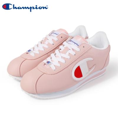 【Champion】Champion FG 復古慢跑鞋 電繡大LOGO阿甘鞋 女鞋-粉(84-2220166)