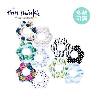 Tiny Twinkle 美國花型圍兜(2入組) - 多款可選