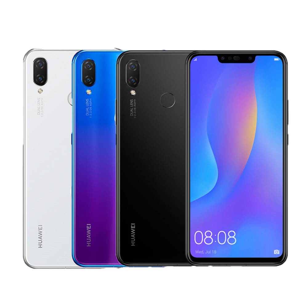 華為 Nova 3i 6.3吋玻璃流光美顏智慧手機(4G/128G)