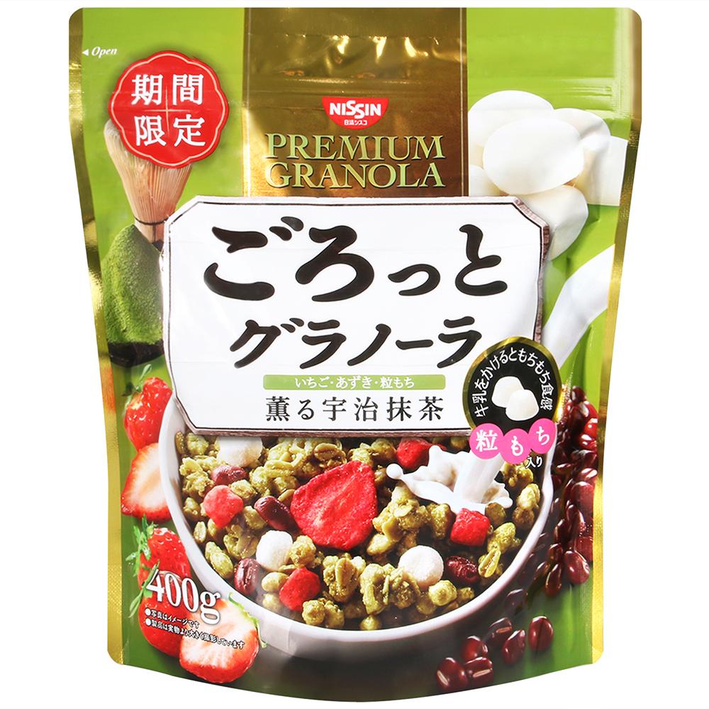 日清Cisco 綜合抹茶紅豆穀片(400g)